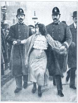 arrested_suffragette